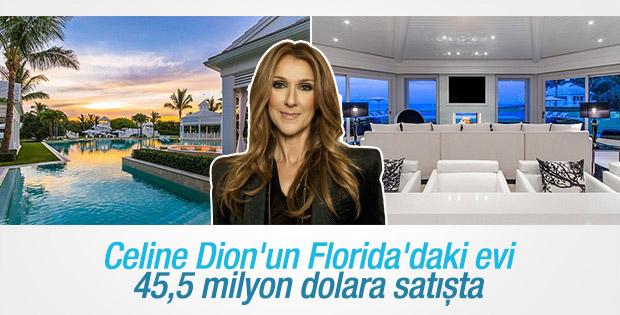 Celine Dion Florida'daki evini satışa çıkardı