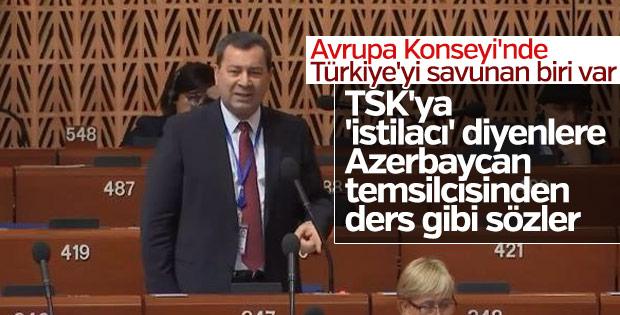Azerbaycan vekili harekâta 'istila' denmesine karşı çıktı