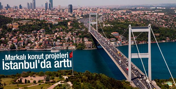 Markalı konut projeleri İstanbul'da arttı