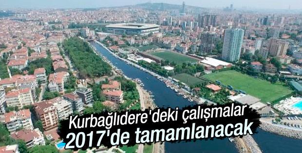 Kurbağlıdere'nin ıslah çalışmaları 2017'de tamamlanacak
