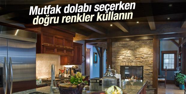 Mutfak dolabı seçerken doğru renkler kullanın