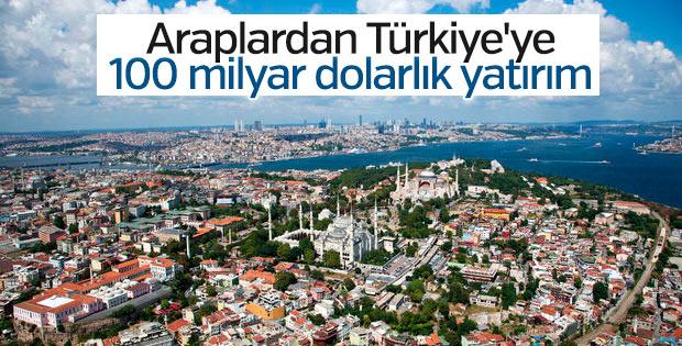 Araplar Türkiye'ye yeni yatırımlar yapacak