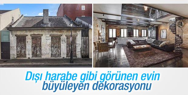 İç dekorasyonuyla büyüleyen ev