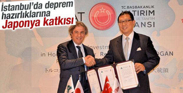 İstanbul'daki deprem hazırlıklarına Japonya'dan destek