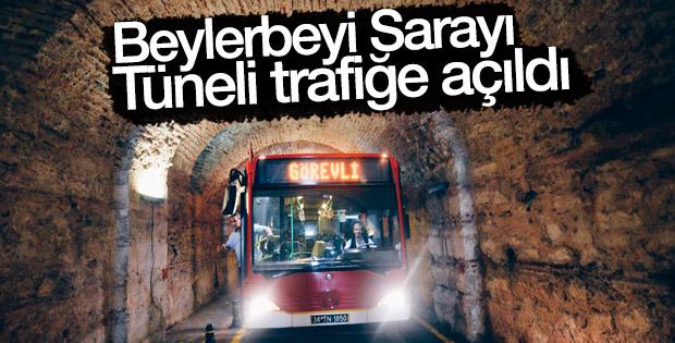 Beylerbeyi Sarayı Tüneli açıldı