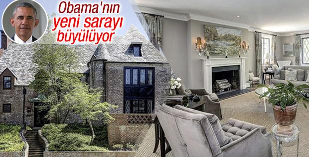 Obama Washington'dan ev kiraladı