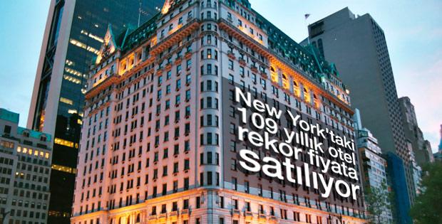 New York'un efsane oteli 1 milyar dolara satılıyor
