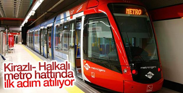 Kirazlı- Halkalı metro hattı ihalesi bugün düzenlenecek