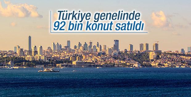 Türkiye'de eylül ayında 92 bin ev satıldı