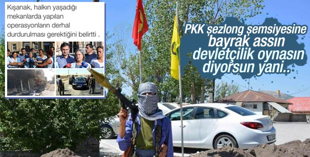 PKK üzülmesin diye Gültan Kışanak devleti suçluyor