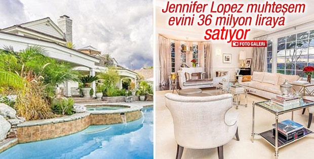 Jennifer Lopez muhteşem evini satıyor