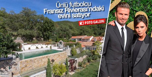 David Beckham Fransız Rivierası'ndaki evini satıyor