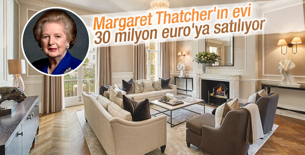 Margaret Thatcher'ın Londra'daki evi satılıyor