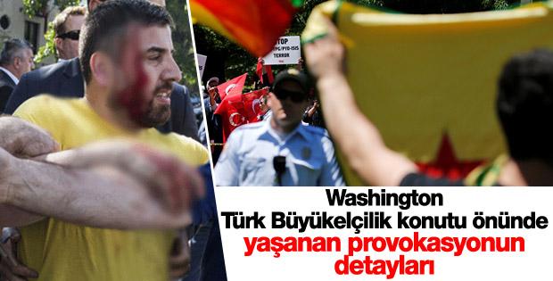 Washington Türk Büyükelçilik konutu önünde aslında neler yaşandı