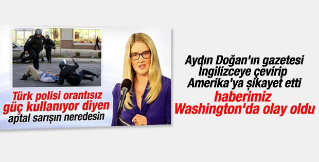 Washington Post Ensonhaber manşetini haber yaptı