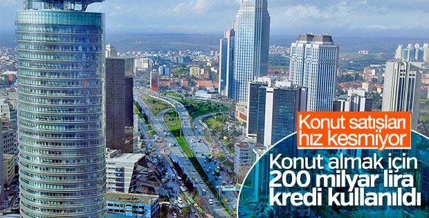 En fazla konut kredisi İstanbul'da kullanıldı