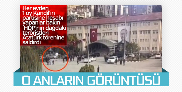 Şırnak'ta İHA ile saldırı girişimi görüntülendi