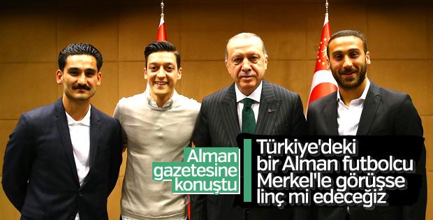 Başkan Erdoğan'dan Almanya ziyareti öncesi Mesut Özil mesajı