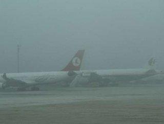 Sabiha Gökçen'de tüm uçuşlar iptal edildi