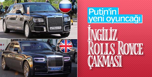 Putin'in yerli limuzini
