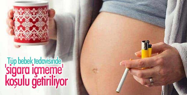 Tüp bebek isteyenlere 'sigara içmeme' şartı