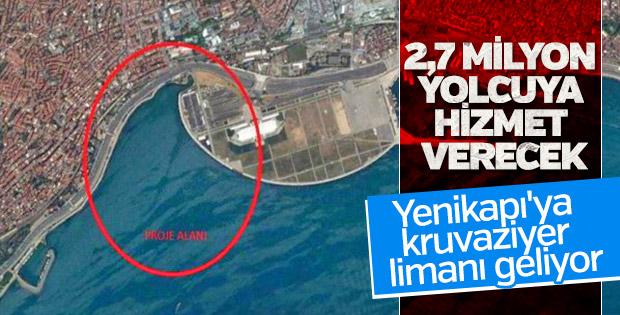 Yenikapı'ya inşa edilecek limanın ihalesi 8 Mayıs'ta