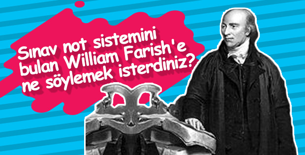 Not verme sistemini bulan öğretmen: William Farish