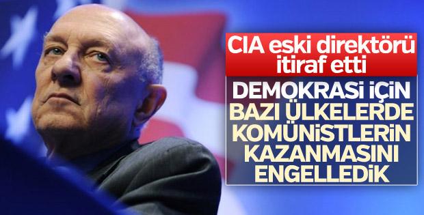 CIA eski direktörü: Bazı ülkelerde seçimlere karıştık