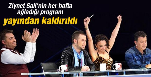 X Factor yayından kaldırıldı