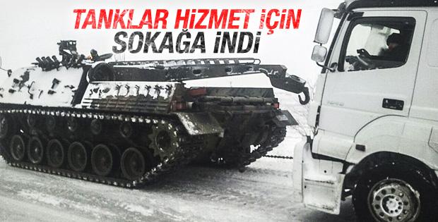 Ankara'da kaza yapan tırları TAMAY kurtardı