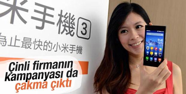 Çin'de iPhone'u getir Xiaomi'yi götür kampanyası