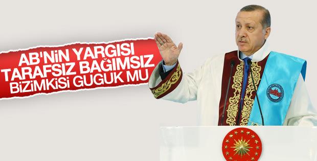 Erdoğan'dan AB'ye eleştiriler