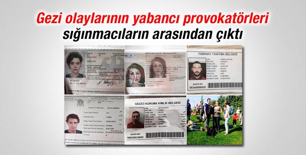 Gezi'nin yabancı provokatörleri sığınmacıların arasında