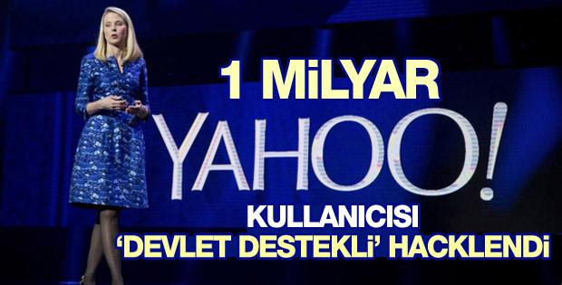 1 milyar Yahoo kullanıcısının hesapları hacklendi