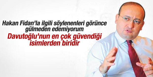 Yalçın Akdoğan'dan Hakan Fidan açıklaması