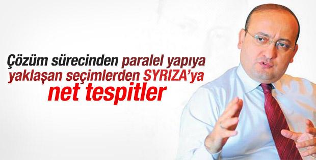 Yalçın Akdoğan: Paralel yapı üflüyor Kılıçdaroğlu oynuyor
