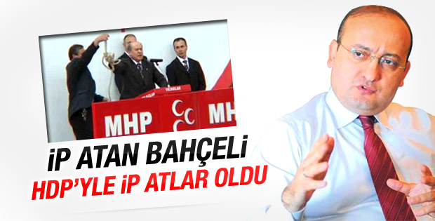 Yalçın Akdoğan: İp atan Bahçeli ip atlar oldu