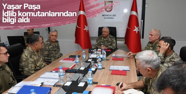 Yaşar Güler, sınırdaki birlikleri denetledi