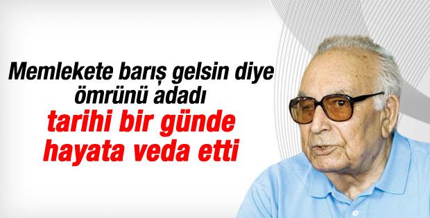 Yaşar Kemal barışın en büyük destekçisiydi
