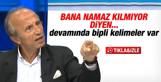 Yaşar Nuri Öztürk canlı yayında çıldırdı