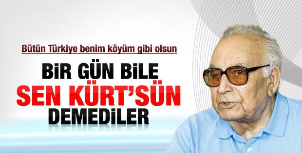 Yaşar Kemal: Kürt'üm diye dışlanmadım