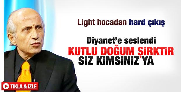 Yaşar Nuri Öztürk: Kutlu Doğum şirktir
