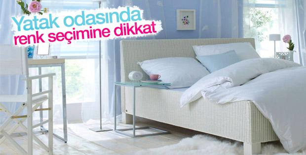 Yatak Odası Için Renk Seçimi