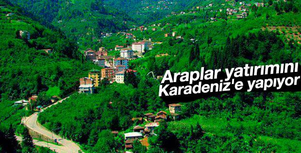 Araplar Karadeniz'i tercih ediyor
