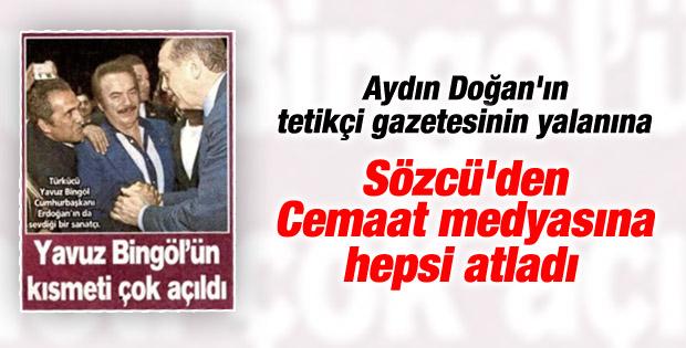 Yavuz Bingöl'den reklam filmi iddiasına yalanlama
