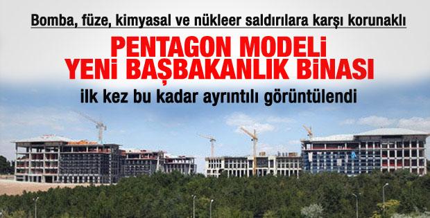 İşte yeni Başbakanlık binası