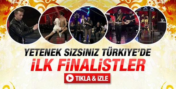 Yetenek Sizsiniz Türkiye'de 10 Şubat performansları