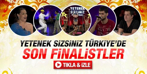 Yetenek Sizsiniz Türkiye'de 11 Şubat son finalistler