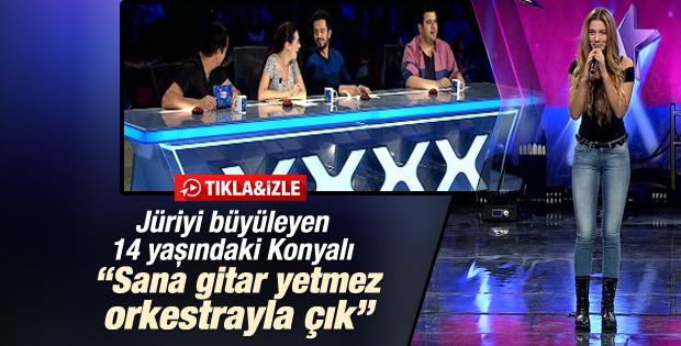 Yetenek Sizsiniz Türkiye'nin en şaşırtıcı yarışmacısı