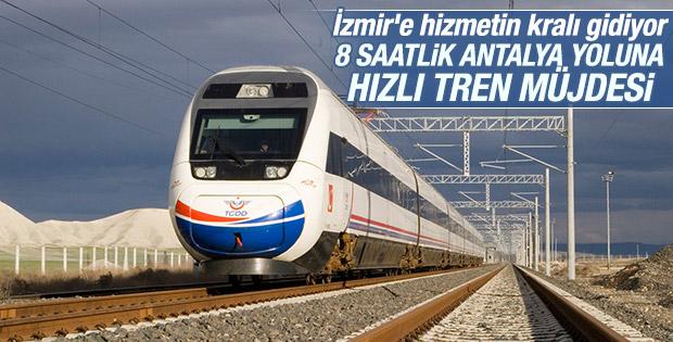 İzmir-Antalya hızlı tren hattı projesi yolda